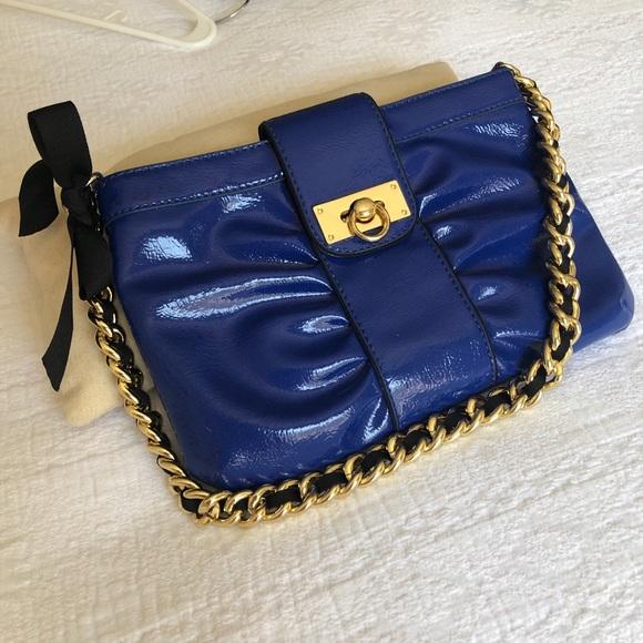 Gianni Bini Handbags - Patent Leather Gianni Bini Shoulder Bag